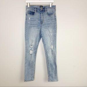 BDG Twig High Rise Distressed Skinny Jeans 30